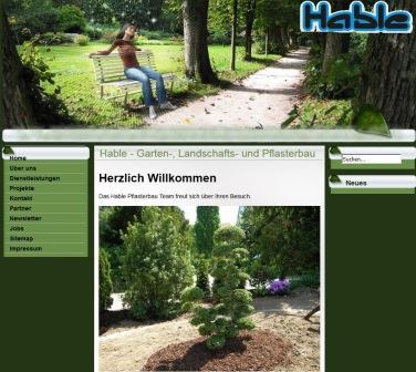 hable pflasterbau garten landschaftsbau in r merstein. Black Bedroom Furniture Sets. Home Design Ideas
