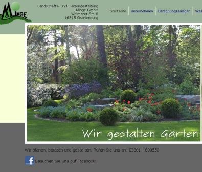 landschafts und gartengestaltung minge in oranienburg. Black Bedroom Furniture Sets. Home Design Ideas