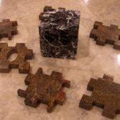 Dickwandige Naturstein und harte Materialien Steinzeug werden exakt und winkelgenau bearbeitet.
