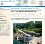 Überall in der Lausitzer Landschaft trifft man auf Abraumhalden von still gelegten Granit-Steinbrüchen. Heute ist die Anzahl der noch aktiven Granit-Steinbrüchen sehr gering.