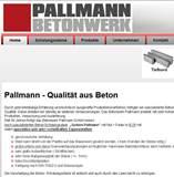 Betonwerk Pallmann hat sich auf die Produktion von hochwertigen Betonfertigteilen, speziell auf Beton-Schalungssteine spezialisiert.