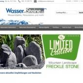 Wasserobjekte wie Brunnen, Quellsteine Wassersteine und mehr