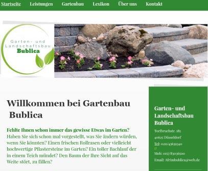 Gartenbau Und Landschaftsbau Bublica Gestaltung Von Besonderen