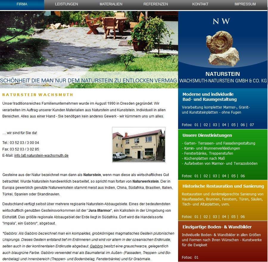 wachsmuth naturstein naturstein nach ma und kundenwunsch. Black Bedroom Furniture Sets. Home Design Ideas